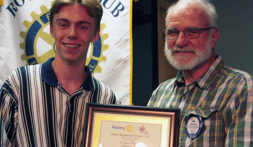 HEADER Grants Pass Rotary Club scholarship college community student awards ceremony 2019